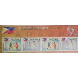 O) 2011 PHILIPPINES,ESKRIMA,MARTIAL ART, ARNIS, NATIONAL SPORT, MNH
