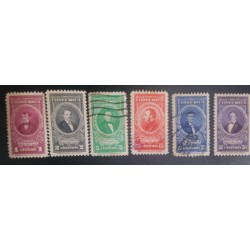 A) 1837 COSTA RICA, MANUEL AGUILAR, GREEN, 5C, BRUNO CARRANZATRAIN RAILROAD, FAKE OVERPRINT,
