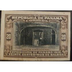 A) 1915, PANAMA, ARCO DE SANTO DOMINGO, EXHIBITION, 20B/