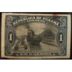 A) 1915, PANAMA, PEDRO MIGUEL LOCK, MARITIME TRANSPORTATION, 1B