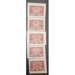 A) 1920, VENEZUELA, REVENUE PAPER,AMERICAN BANK NOTE, DIE PROOF