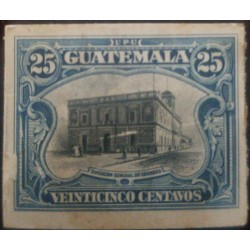 A) 1911, GUATEMALA, GENERAL ADDRESS OF POST, DIE PROOF, NATIONAL SYMBOL