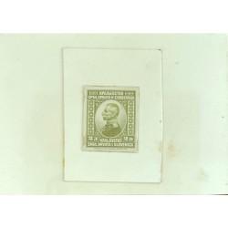 J) 1920 CIRCA-SLOVENIA, DIE SUNKEN CARDBOARD, AMERICAN BANK NOTE, XF