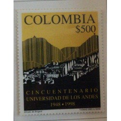 A) 1998, COLOMBIA, L ANNIVERSARY OF THE UNIVERSITY OF THE ANDES, THOMAS GERG & SONS