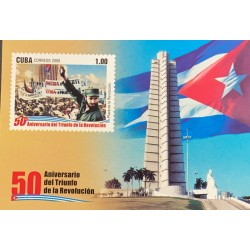 A) 2009, SPANISH ANTILLES, 50 ANNIVERSARY OF THE TRIUMPH OF THE REVOLUTION
