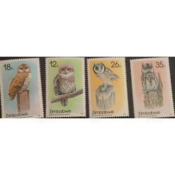 A) 1987, ZIMBABWE, OWLS, MOCHELO FROM EL CABO, PEARL BACKPACK, AUTILLO CARIBLANCO, AFRICAN AUTILLO
