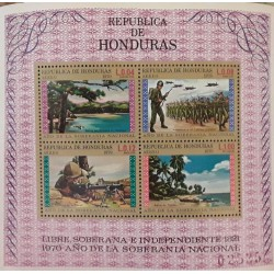 1972, HONDURAS, CL ANNIVERSARY OF INDEPENDENCE