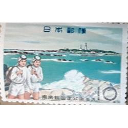 A) 1968, JAPAN, DIVERS, MNH