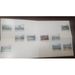 A) 1988, VENEZUELA, TOURIST SITES, FIRST DAY BULLETIN