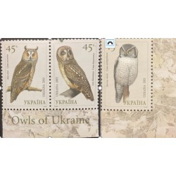 A) 2003, UKRAINE, OWLS, ASIO OTUS, ASIO FLAMMEUS, SURNIA ULULA