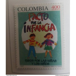 A) 1997, COLOMBIA, CHILDREN'S RIGHTS, AERIAL, THOMAS GREG & SONS