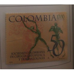 A) 1997, COLOMBIA, L ANNIVERSARY OF THE COLOMBIAN SOCIETY OF ORTHOPEDIC SURGERY AND TRAUMATOLOGY, AERIAL