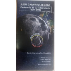 A) 2020, COLOMBIA, OBSERVATORIUM SPACE TELESCOPE, JULIO GARAVITO ARMERO, ISSUE, FDB