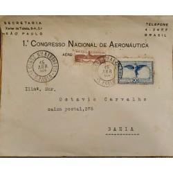 A) 1934, BRAZIL, I INTERNATIONAL CONGRESS OF AERONAUTICS, AERIAL, SAO PAULO