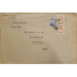 A) 1935, BRAZIL, AIRMAIL, RIO OF JANEIRO TO SAO SALVADOR