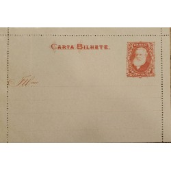 A) 1898, BRAZIL, POSTAL STATIONARY, RED, CHARACTER