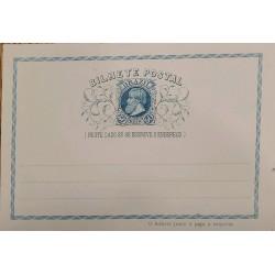 A) 1898, BRAZIL, POSTAL STATIONARY, BLUE