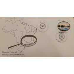 A) 1979, BRAZIL, FEBRUARY DAY, INTERNATIONAL THENATIC PHILATELIC EXHIBITION BRAZILIANA 79