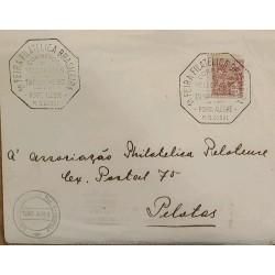 A) 1933, BRAZIL, AIMED AT BALLS, I BRAZILIAN PHILATELIC FAIR, PORTO ALEGRE