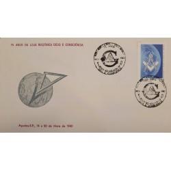 A) 1980, BRAZIL, FREEMASONRY, OF THE MASONIC LODGE GOD THE CONSCIENCE