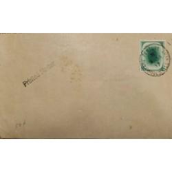 J) 1937 ENGLAND, PRINTED METTER, XF