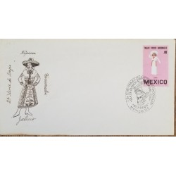 M) 1992, USA, POSTAL STATIONARY, BLACK CANCELLATION SEAL.