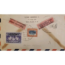 A) 1946 CAMEROUN, CROSS OF LORRAINE & FOUR MOTOR PLANE CD87, C1-C7, AIRMAIL, PEOPLE, WARRIOR IN HORSE, VF.