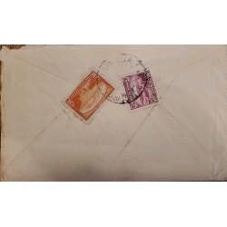 O) 1868 BOLIVIA, ENTIRE LETTER WRITTEN PRESIDENT MARIANO MELGAREJO. FINE OVAL BOLIVIA FRANCA SERVICIO GOBERNATIVO.ENDORSED