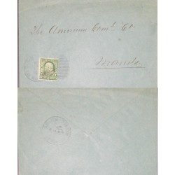 J) 1900 PHILIPPINES, CIRCULATED COVER, FROM PHILIPPINES TO MAMILA