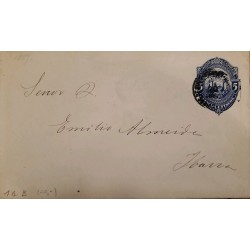L) 1930 MEXICO, 15C, RED, AIRPLANE, 20C, AIRMAIL, CIRCULATED COVER FROM MAZATLAN TO TEGUCIGALPA, XF
