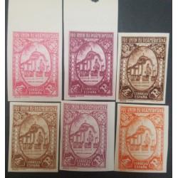 A) 1930, SPAIN, PORTUGAL PAVILION, EDI:579CCS-ECES, 170 EUROS, 4PTS, 6 COLORS
