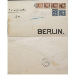 A) 1899, SPANISH ANTILLES, FROM HAVANA TO BERLIN, US OCCUPATION JULY 18, BIG PARCEL
