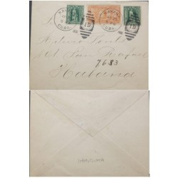 A) 1900, SPANISH ANTILLES, US OCCUPATION IN HAVANA, WITH SPACIAL DELIVERY, APRIL 25TH 1900, XF, INMEDIATE, PRISTINE