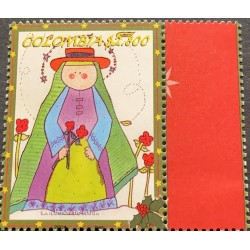 A) 2004, COLOMBIA, CHRISTMAS, ILLUSION OF THE VIRGIN MARY, MNH