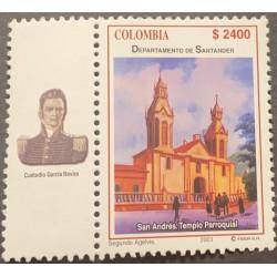 A) 2003, COLOMBIA, CHURCH, SANTANDER DEPARTMENT, CUSTODIO GARCIA ROVIRA, FESA S.A