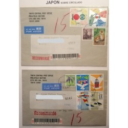 A) 1995, JAPAN, CENTENARY OF FRIENDSHIP WITH BRAZIL, JOINT ISSUED, END OF WORLD WAR II, AIRMAIL,