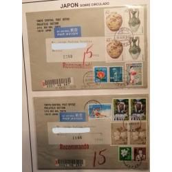 A) 1992-1993, JAPAN, DIPLOMATIC RELATIONS WITH CHINA, SKI, FLOWER, AIRMAIL, FROM TOKIO TO MEXICO,