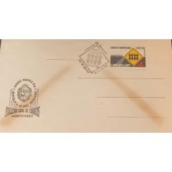 A) 1962, URUGUAY, POSTAL STATIONARIES, ROADS, PAN AMERICAN CONGRESS, FDC, MONTEVIDEO