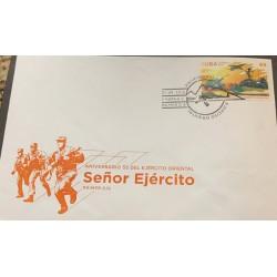A) 2016, SPANISH ANTILLES, NAVY, FDC, EASTERN ARMY, HAVANA