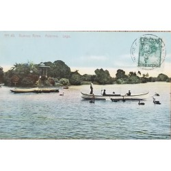A) 1905, ARGENTINA, POSTCARD, BUENOS AIRES, PALERMO, LAKE
