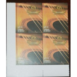 A) 2016, MEXICO, GUITAR, MNH, ANNIVERSARY OF THE MUSICAL GROUP, THE RONDALLA OF SALTILLO, BLOCK OF 4
