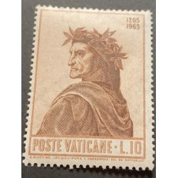 J) 1965 VATICAN CITY, DANTE BY RAPHAEL, MN