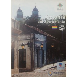 A) 2020, URUGUAY, COLONY OF THE SACRAMENTO, POSTCARD, WORLD HERITAGE