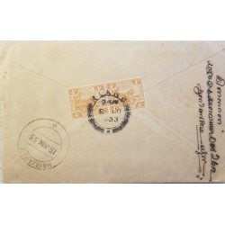 A) 1922, MALAYA, SEND TO RAYAVARAM OF THE DISTRICT OF PUDUKKOTTAI, TIGER