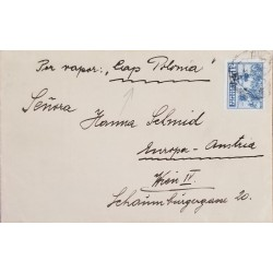 A) 1920, ARGENTINA, VAPOR POLONIA FROM BUENOS AIRES TO AUSTRIA, 45 RARE DESTINATION, DAY OF RACE STAMP