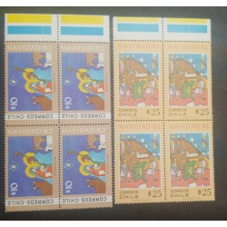 A) 1982, CHILE, CHRISTMAS, MNH, CARTOON, ADORATION OF THE PASTORS, MULTICOLORED, B4
