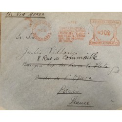 A) 1929, ARGENTINA, SLOGAN CANCELATION, ALL NATIONAL TELEGRAM OFFICES RECEIVE TELEGRAMS FOR ABROAD WITHOUT FEE SURCHARGE