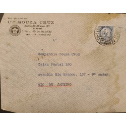 A) 1946, BRAZIL, FROM PORTO ALEGRE TORIO DE JANEIRO AIRMAIL, EDUCATION STAMP