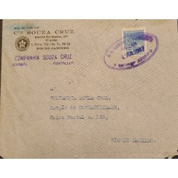 A) 1907, BRAZIL, FROM FORTALEZA TO RIO DE JANEIRO, AIRMAIL, COMMERCE STAMP