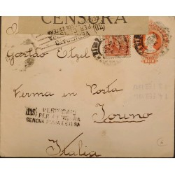 A) 1912, BRAZIL, CENSORSHIP, POSTAL STATIONARY, SLOGAN CANCELATION,